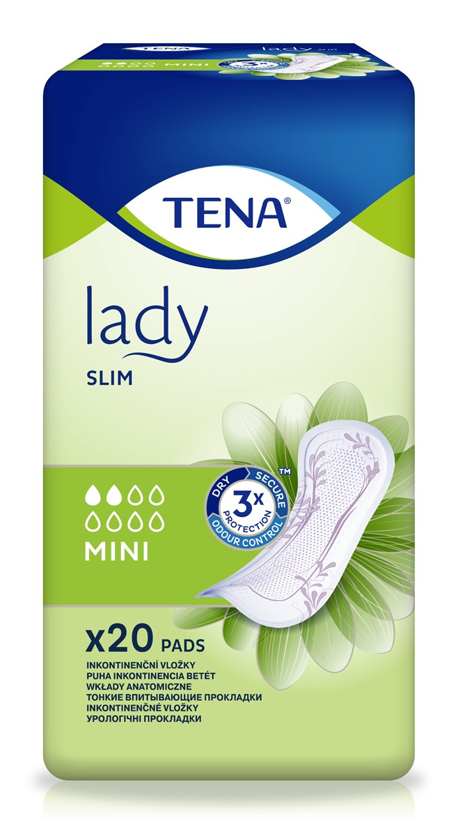 TENA Lady Slim Mini, podpaski, 20 szt